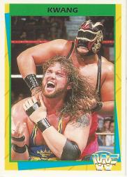 1995_WWF_Wrestling_Trading_Cards_(Merlin)_Kwang_155